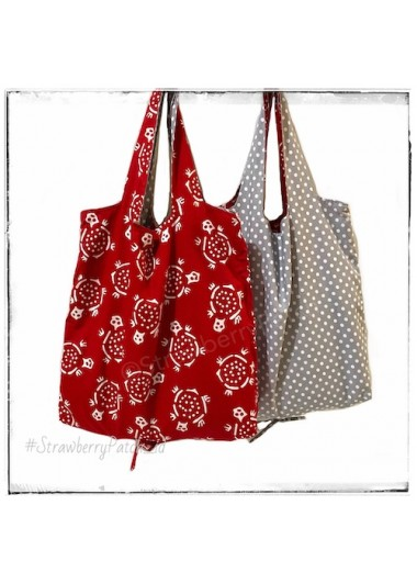 Shopping Bag - Red Turtle (Double)