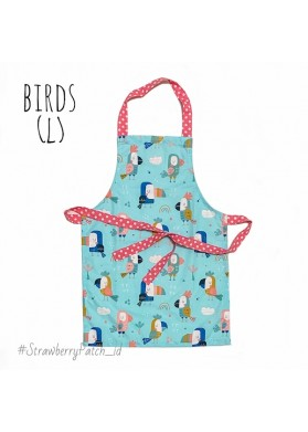 Kids Apron - BIRDS (L)